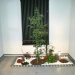 「和モダン」の味を取り入れた現代の坪庭!