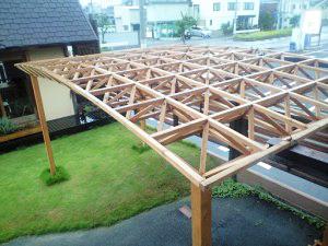 木製立体トラス・アーチタイプ(施工例写真)