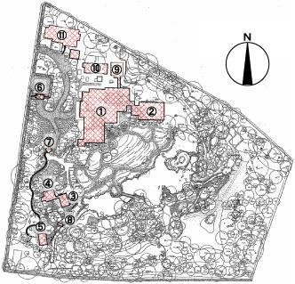 278:清風荘配置図