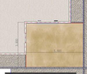 ガーデンリフォームモデルプラン施工前平面r