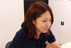 「プレゼン優秀賞」を受賞した林香奈子さん。