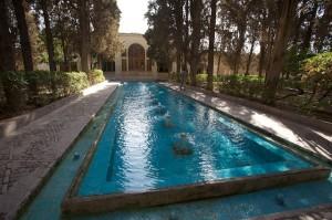 Fin Garden, Bagh-e Tarikhi-ye Fin. Kashan, Iran.