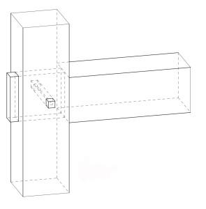 図-05木栓を使って締め付ける継手