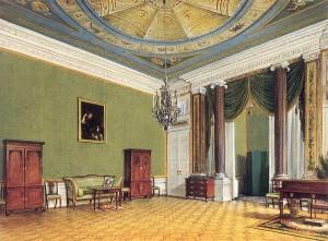 サンスーシ宮殿執務室兼寝室
