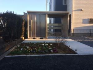 収納&菜園