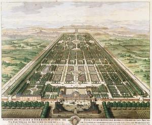 1708年頃の図面