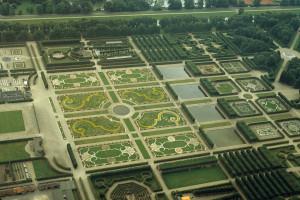 大庭園航空写真