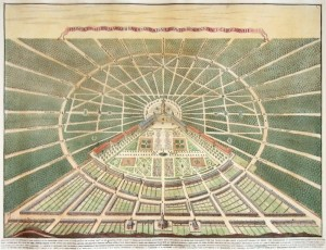 鳥瞰図(1721年)