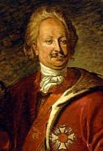 Markgraf Karl Wilhelm von Baden-Durlach Halbstück in Herrscherpose Weitere Zuordnung unbekannt Laut LMZ Stadtgeschichtliche Sammlungen KA