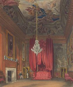 クリストファー・レンのデザインによるメアリー女王の寝室