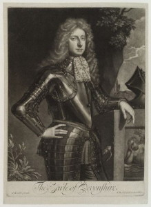 by and published by; after Isaac Beckett; Sir Godfrey Kneller, Bt,print,(circa 1680-1685)