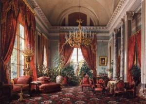 アレクサンドロフスキー宮殿「深紅の間」