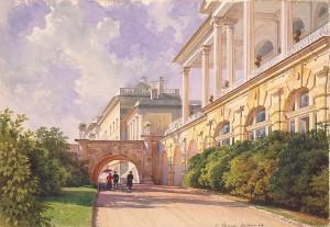 エカテリーナ宮殿の風景