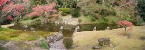 77:瓢箪型の池