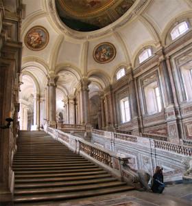 宮殿内の階段